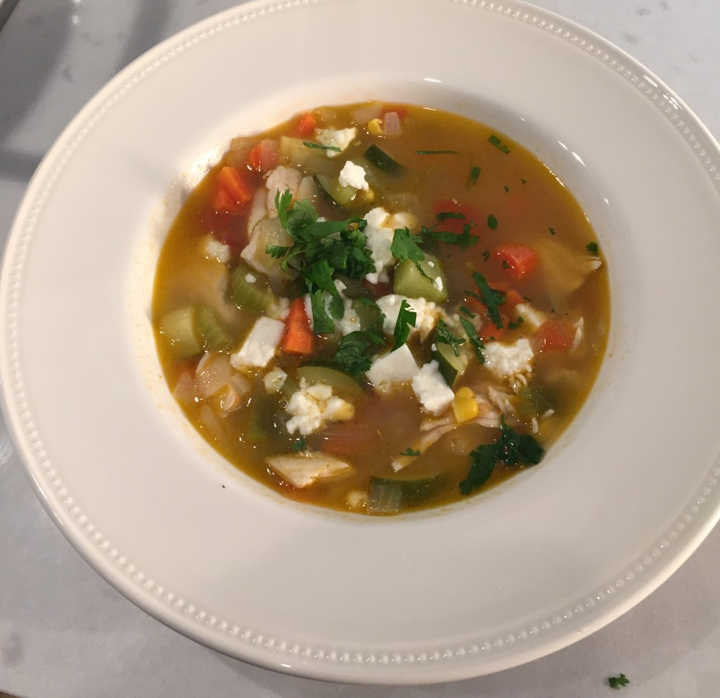 mexican chicken vegetable soup