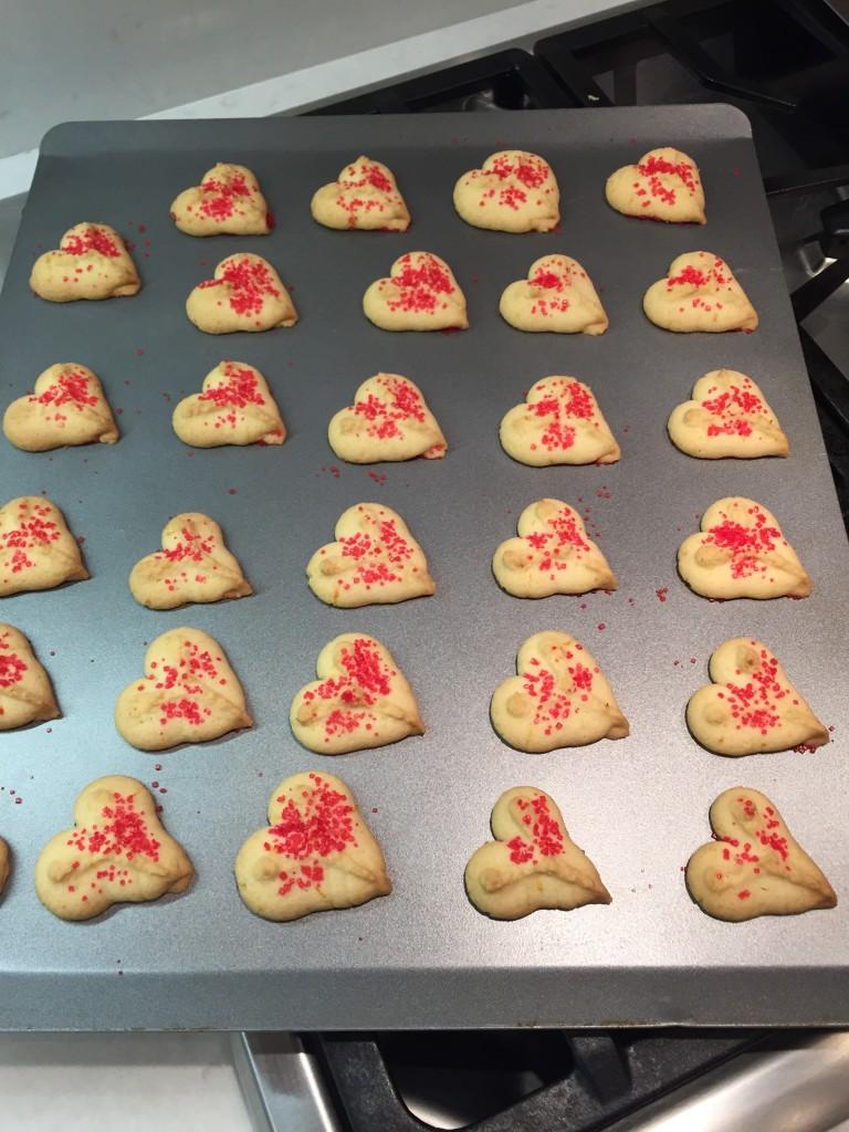gluten free spritz cookies