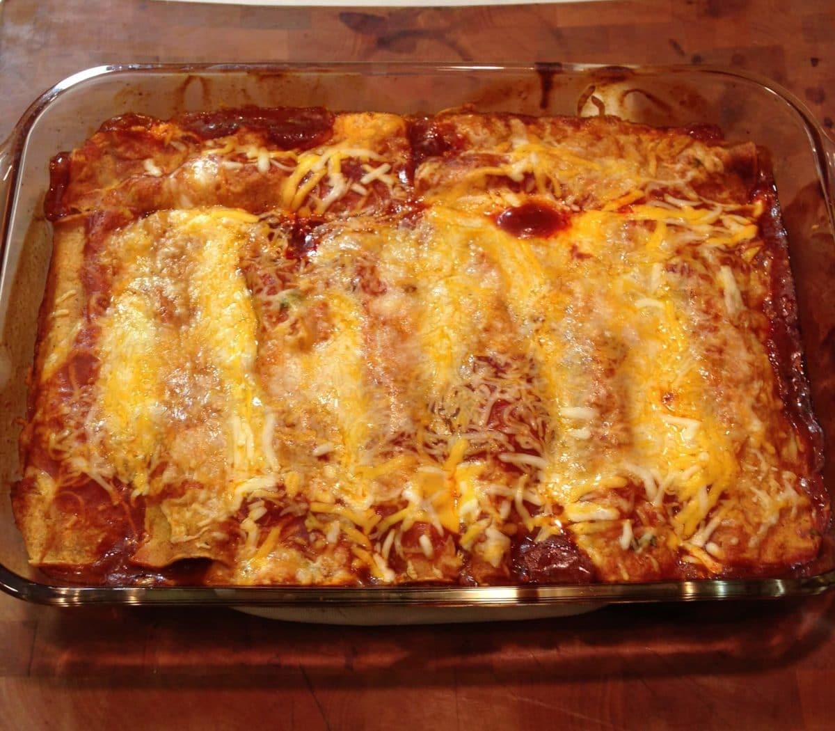 Mexican Feast Part 1: Chicken Enchiladas