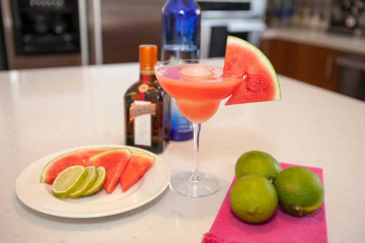 The Best Watermelon Margarita- Because Summer Isn't Over!