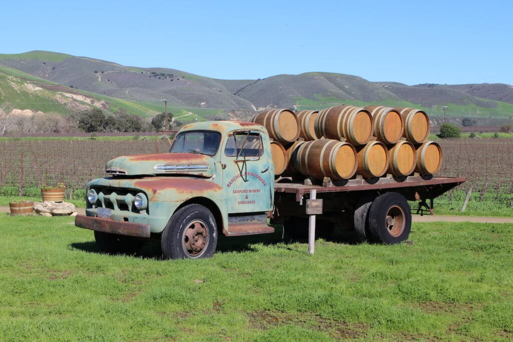 santa ynez wineries, Sanford winery