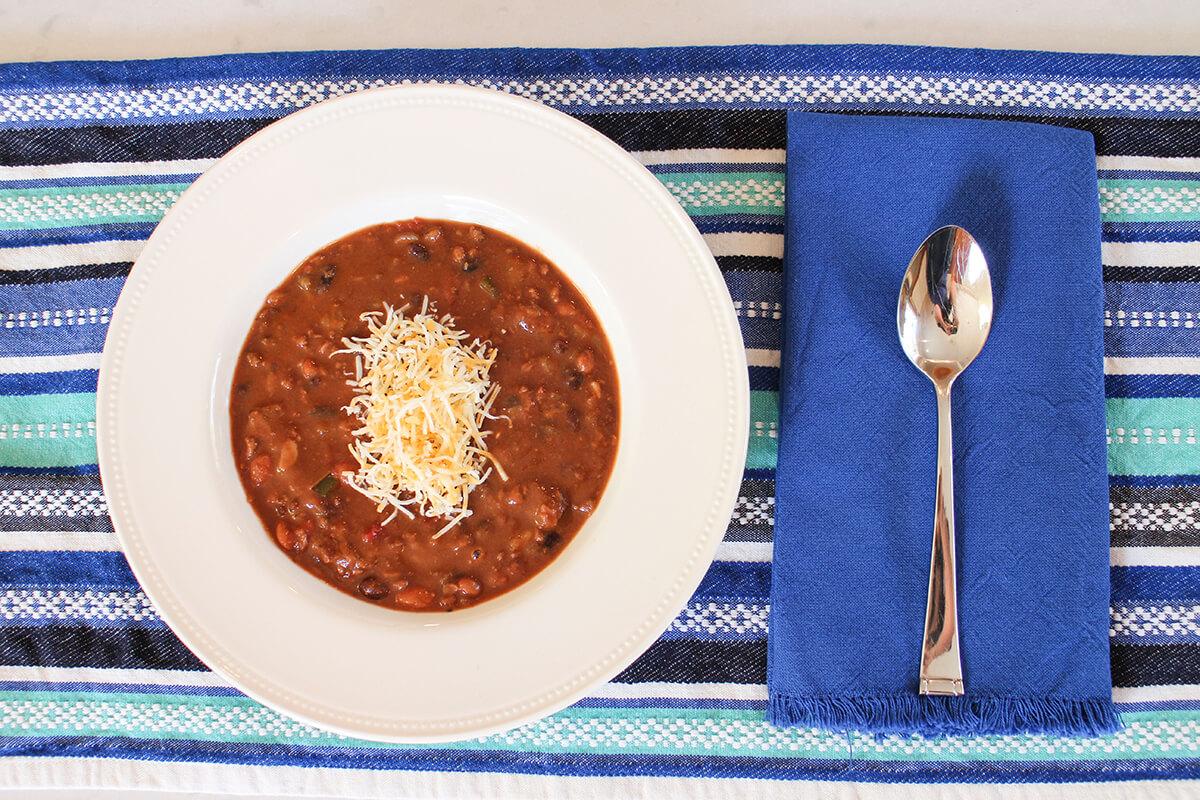 Gluten Free Chili aka Claire's Cocoa Loco Chili