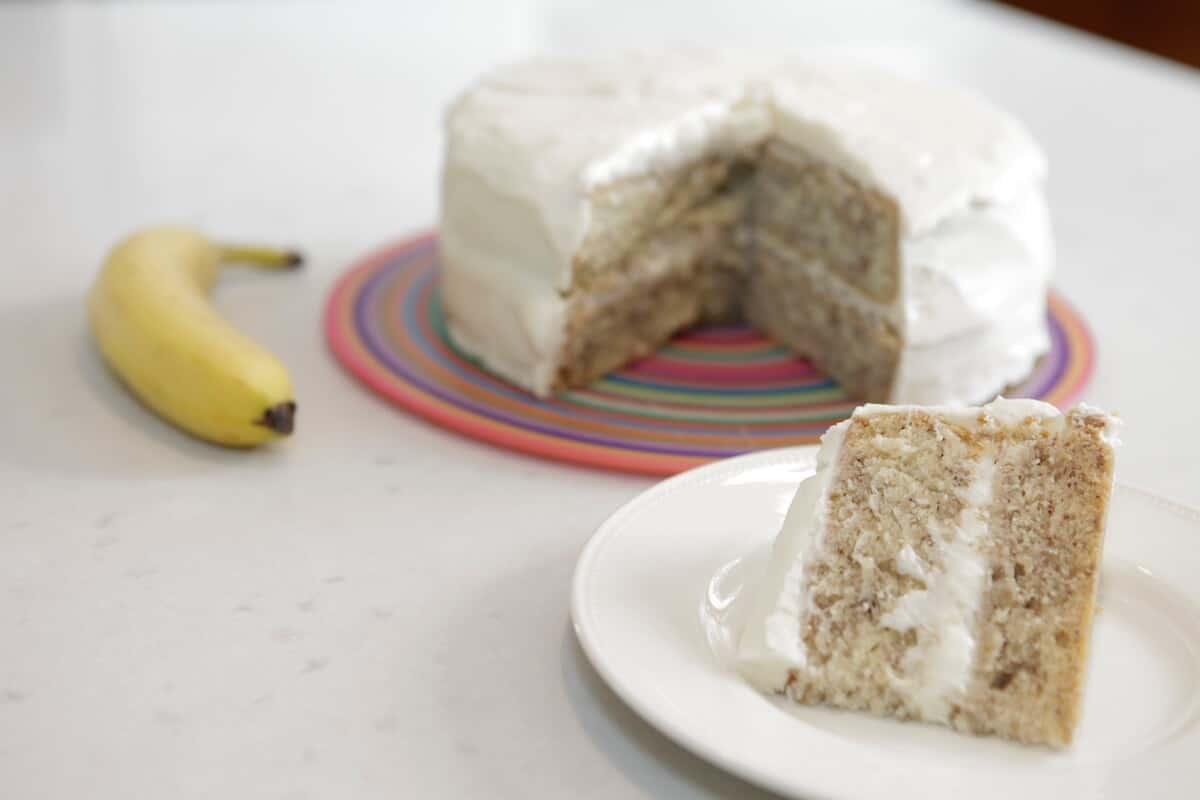 Claire's Amazing Banana Cake
