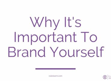 Why It's Important To Brand Yourself