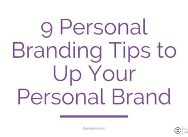 9 Personal Branding Tips to Up Your Personal Brand