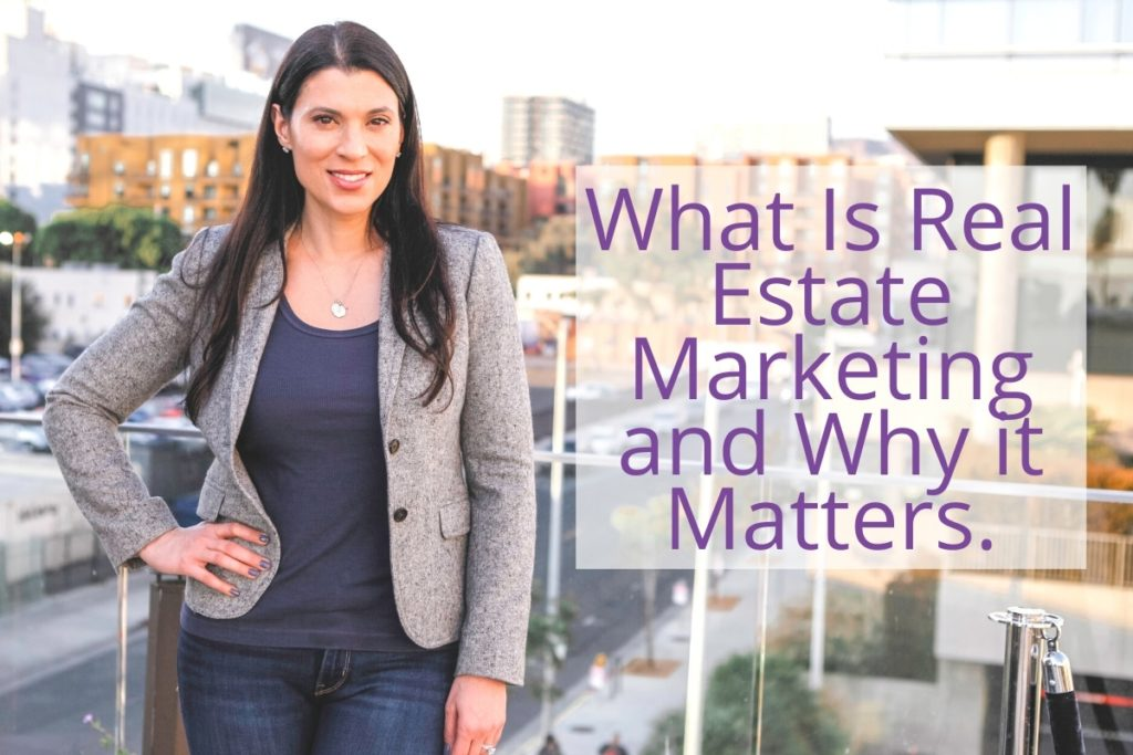 what is real estate marketing