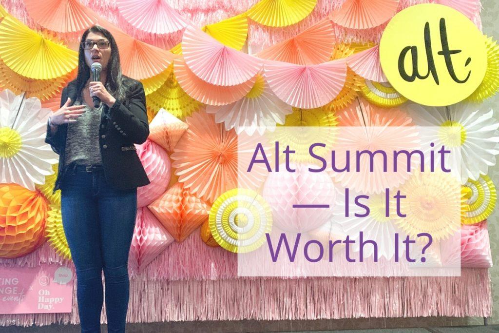 Alt Summit Is It Worth It?