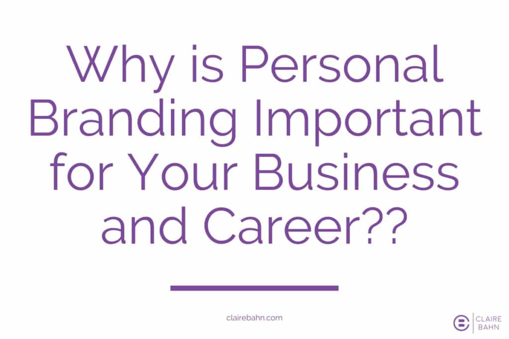 Why is personal branding important