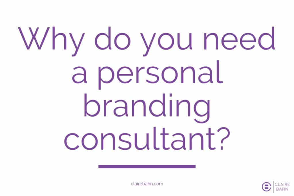 Personal brand consultant