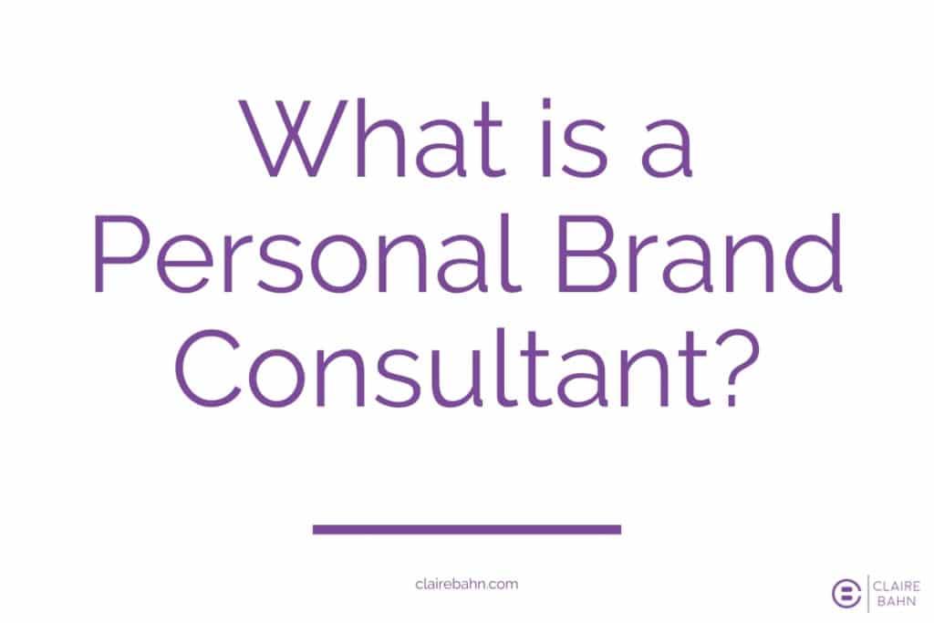 Personal brand consultant