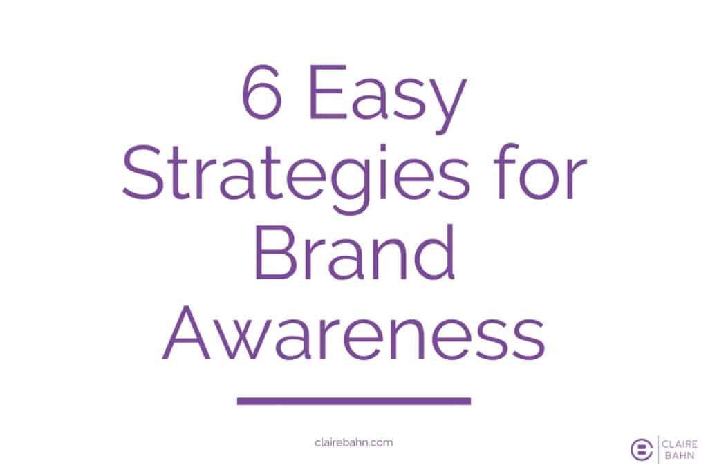Strategies for Brand Awareness