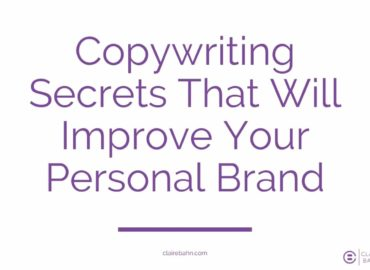 Copywriting Secrets That Will Improve Your Personal Brand