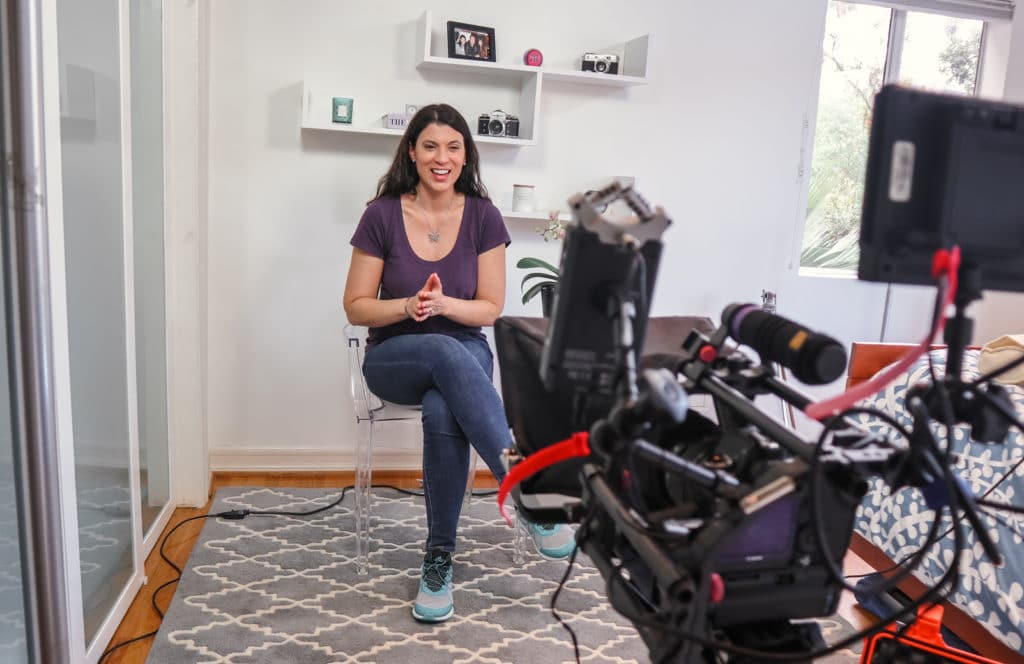 video content marketing, claire bahn