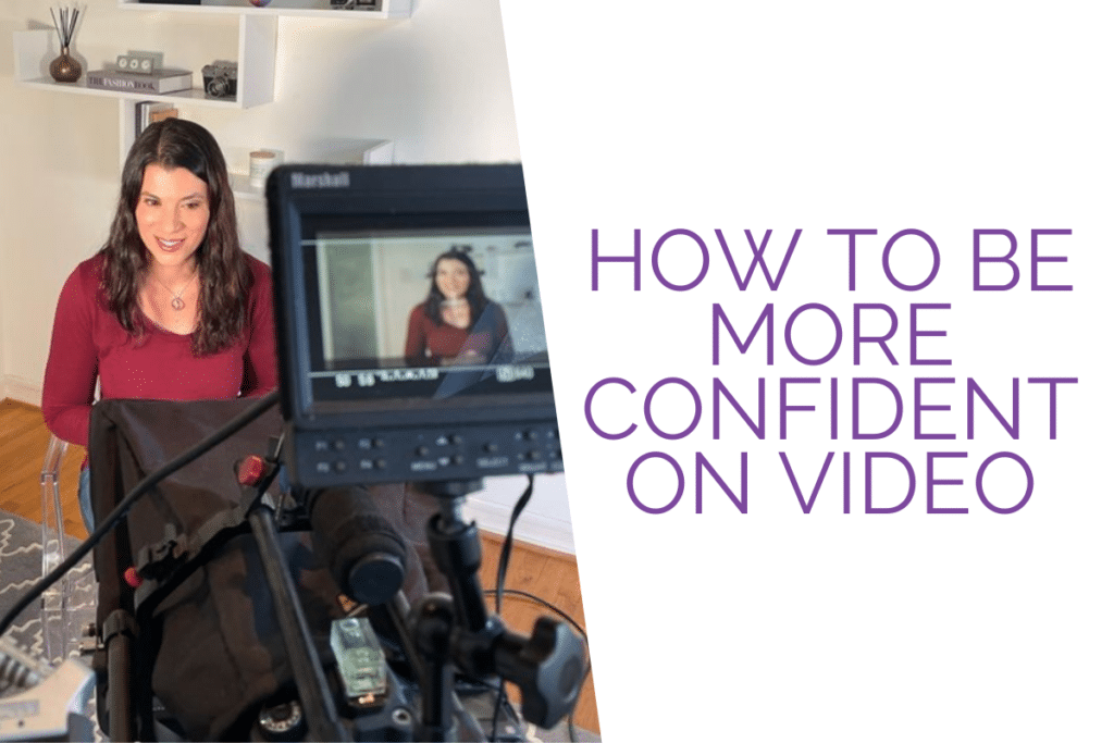 How To Be More Confident on Video