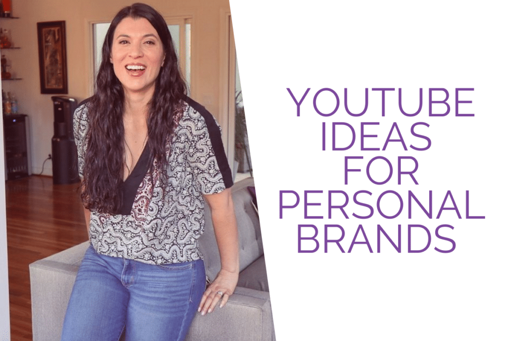 youtube for personal brands