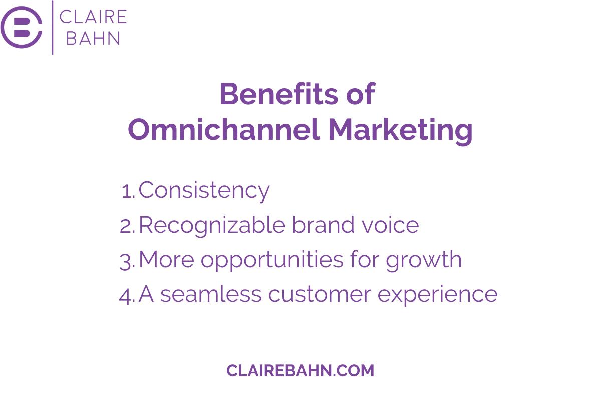 benefits of omnichannel marketing