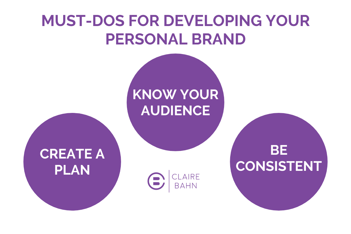 3 Tips for Personal Branding