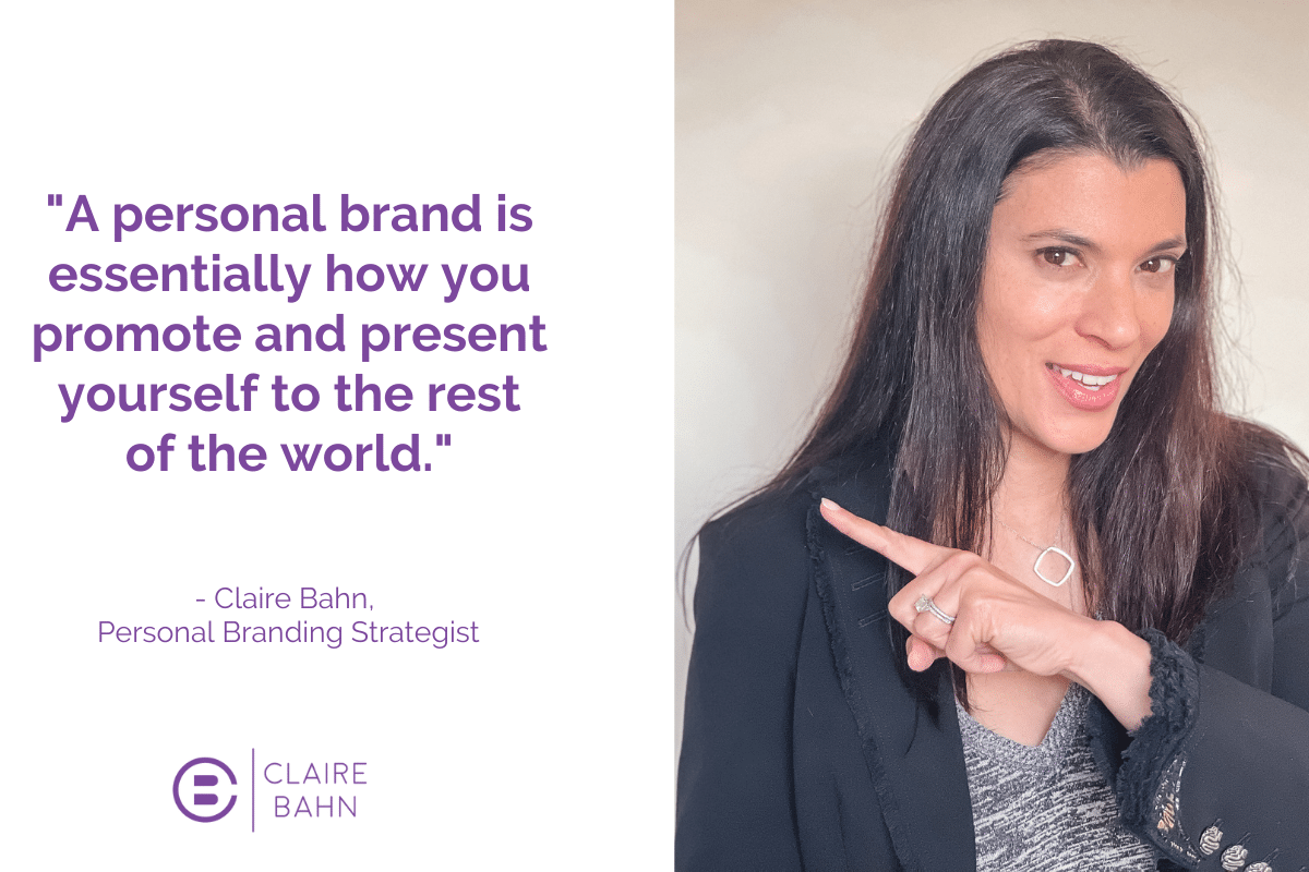 personal brand = representation